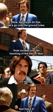 Anchorman Fight Scene