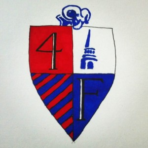 Four Father Cup Crest