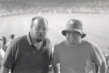 Yankee Stadium - Dad and Aaron