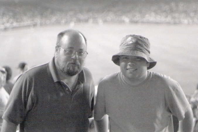 Yankee Stadium - Dad and Aaron