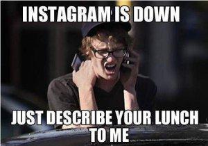 Comparisons - Food on Instagram