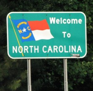 NC Revisited - Welcome Sign