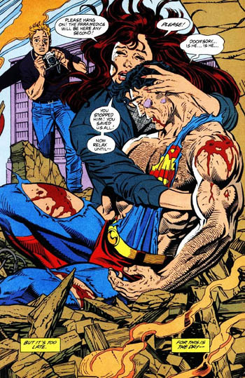The Death of Superman - Lois