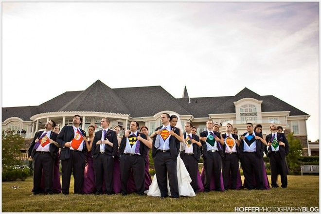Day Eighteen - Super Hero Bridal Party