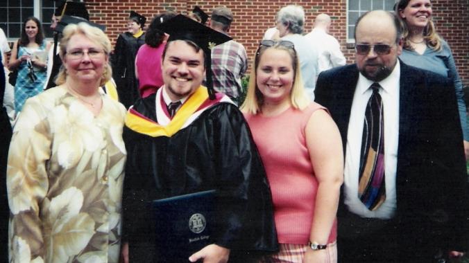 Graduation 2003 - Family 2