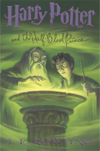 Harry Potter and the Half Blood Prince - Cover