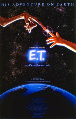 ET the Extra-Terrestrial Poster