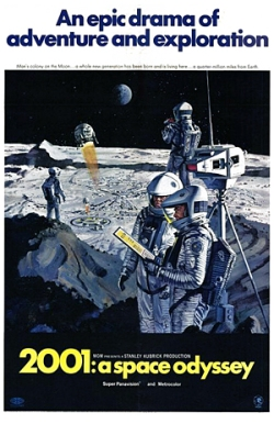 2001 A Space Odyssey - Poster