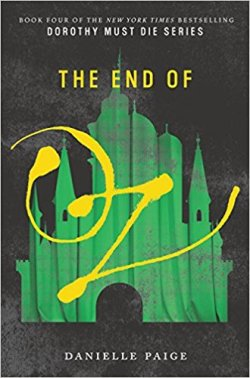 The End of Oz - Cover