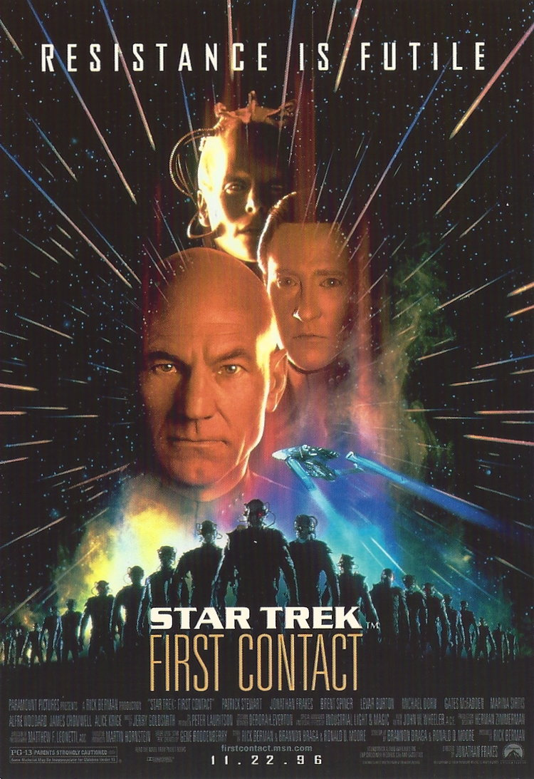 STAR TREK FIRST CONTACT THE BORG 1996