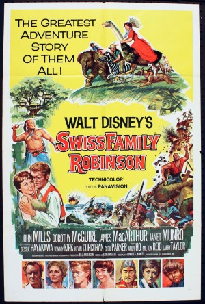 Swiss Family Robinson - Poster