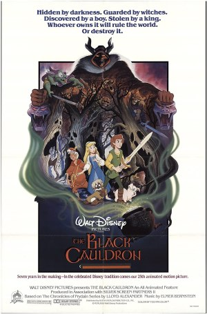 Black Cauldron - Poster