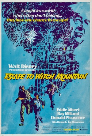 Escape to Witch Mountain - Poster