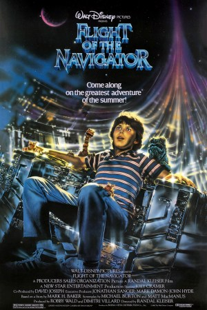 Flight of the Navigator - Poster
